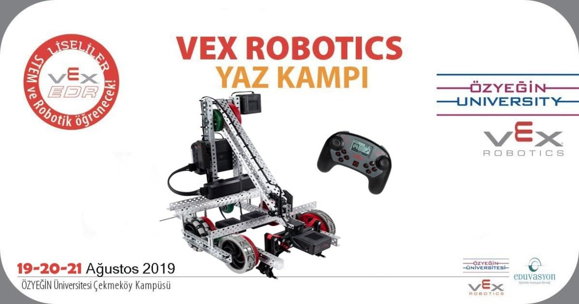 VEX Robotics Yaz Kampı Özyeğin Üniversitesi